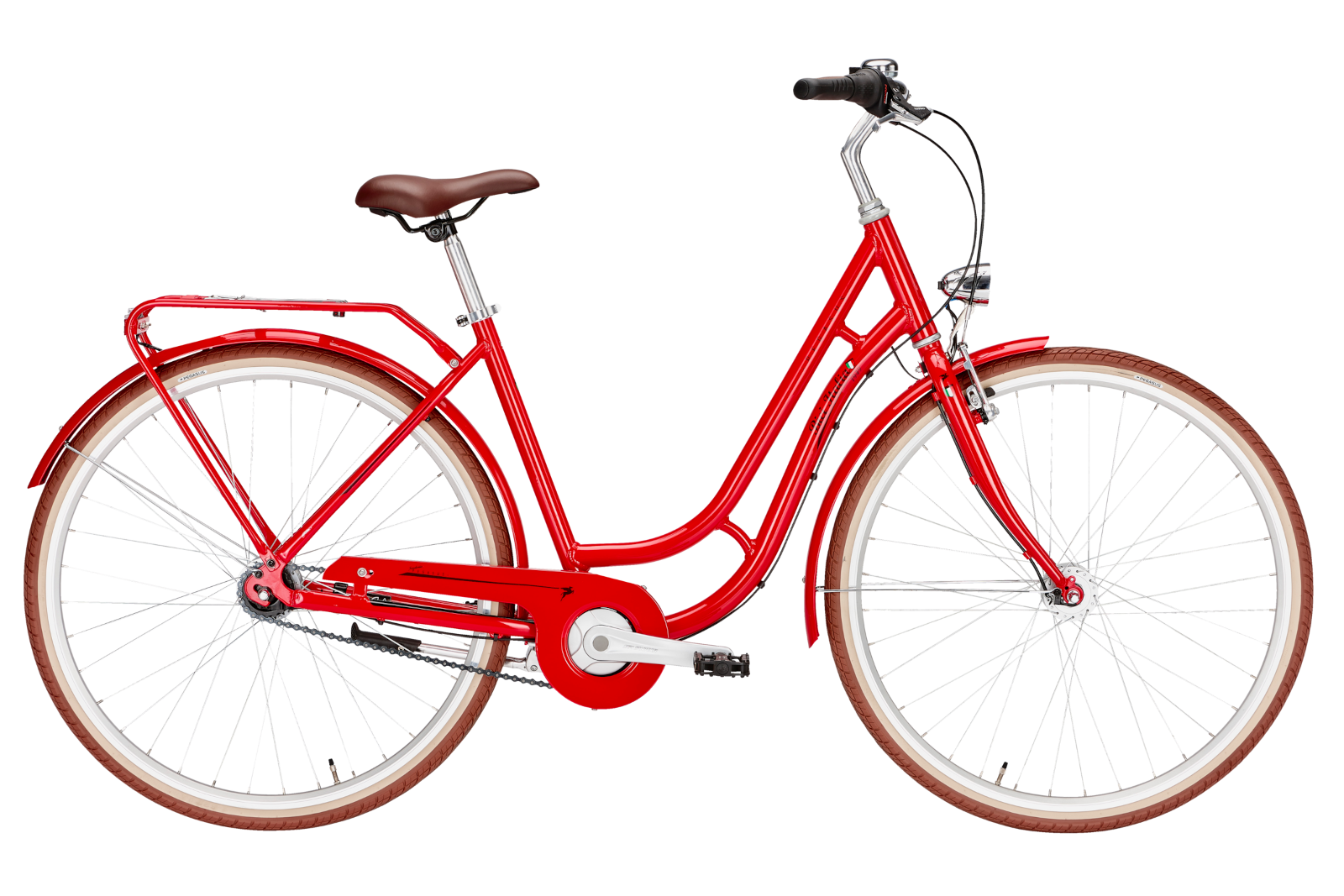 Pegasus Bici Italia 7-Gang rosso