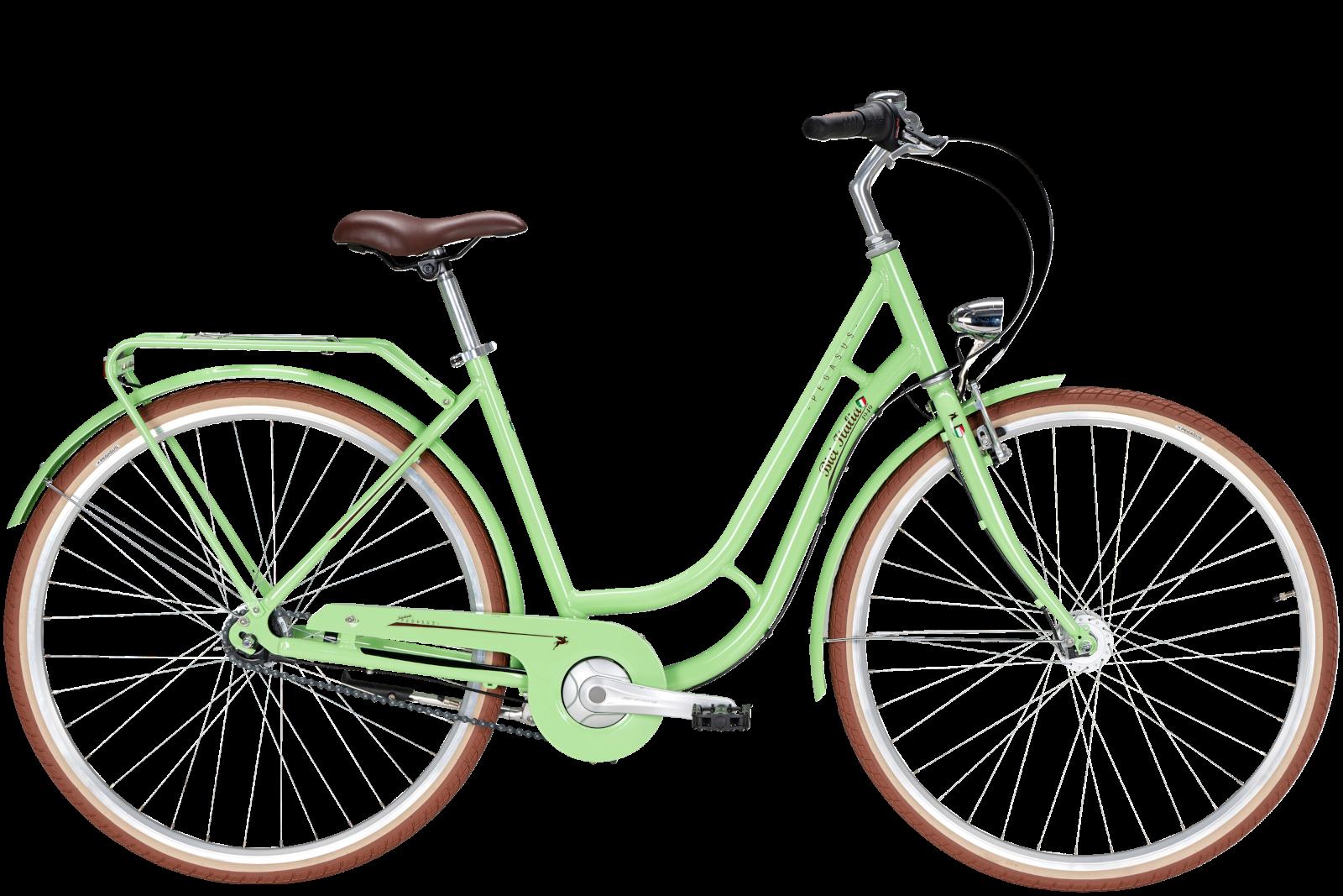 Pegasus Bici Italia 7-Gang pistacchio green