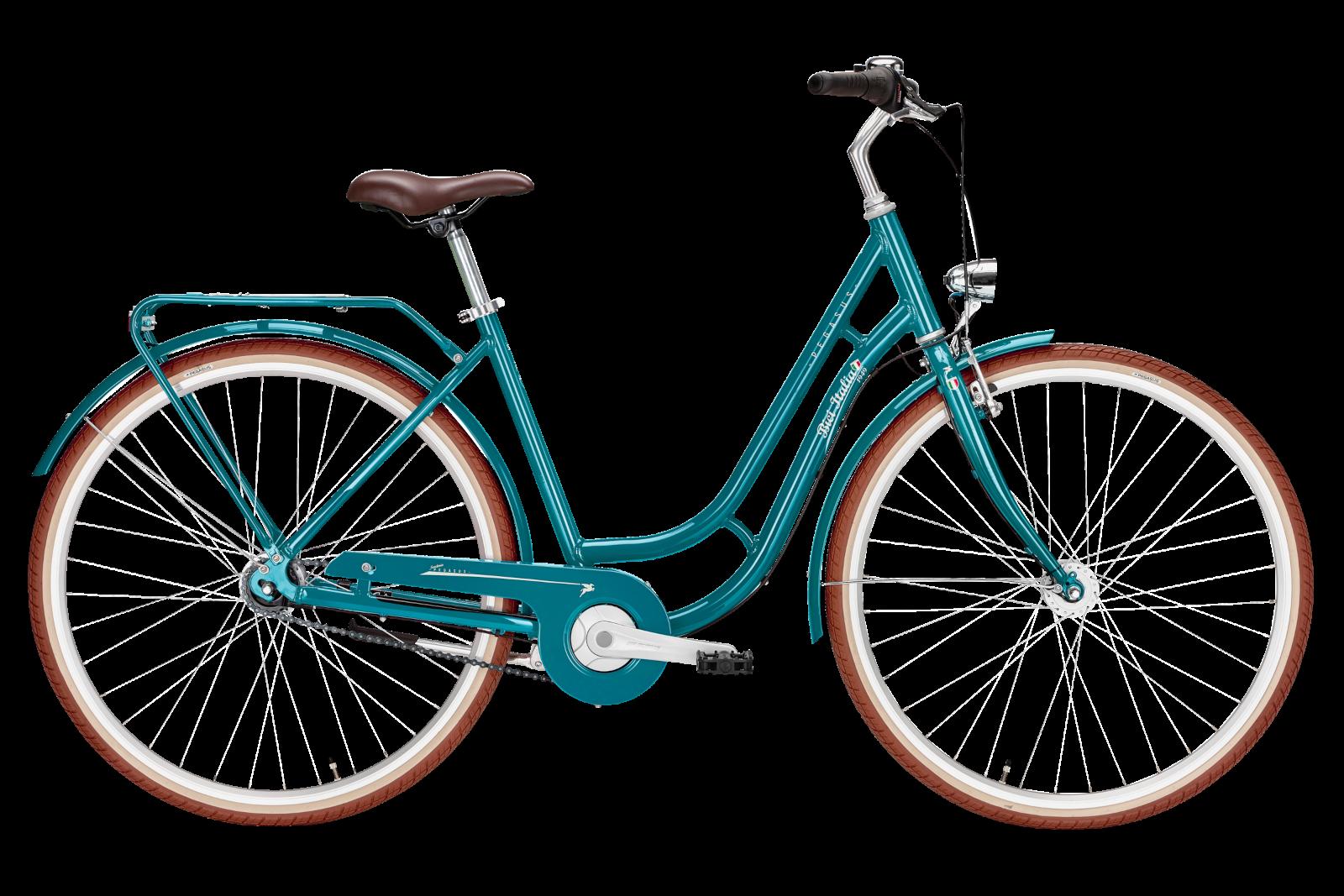 Pegasus Bici Italia 7-Gang blue green
